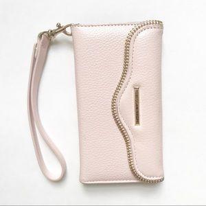 Rebecca Minkoff • Cell Phone Wallet Wristlet Pink